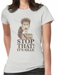 Stop That! Womens Fitted T-Shirt