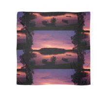 Swedish lake at sunset Scarf