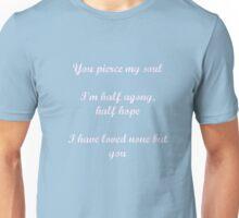Persuasion quote Unisex T-Shirt