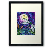 Moonlit Flight Framed Print