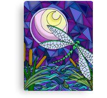 Moonlit Flight Canvas Print