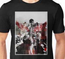 Industrial Ascension on Red Wings Unisex T-Shirt