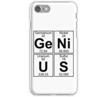 Ge-Ni-U-S (genius) iPhone Case/Skin