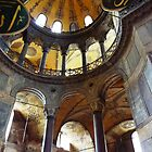 Hagia Sophia Interior - Central Dome by Deirdreb
