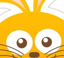 Smiling Little Bunny Sticker