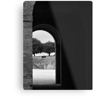 Siena Fortezza Metal Print