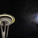 Space Needle I by JAHphoto