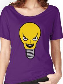 Evil Lightbulb Women's Relaxed Fit T-Shirt