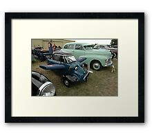 Messerschmidt @ Tyabb Air Show Car Park Framed Print