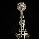 Space Needle II by JAHphoto