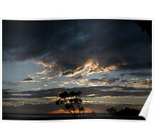 """""""Dawn of a new day"""" Cowell South Australia Poster"""