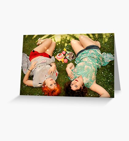 days of fun and frolic Greeting Card