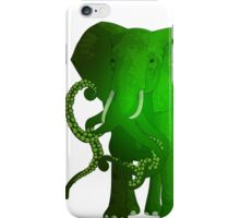 evolution of the elephant iPhone Case/Skin