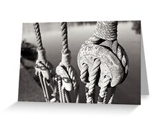 ropes n ting Greeting Card