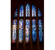 Stained Glass - National War Memorial Photographic Print