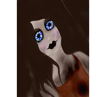 crazy doll Photographic Print