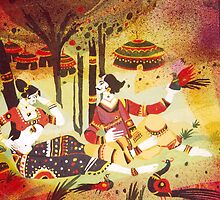 Traditional India Art by AIM  TO BE AIMLESS