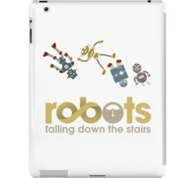 Robots Falling Down the Stairs iPad Case/Skin