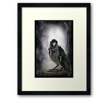 Polly the other way Framed Print