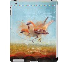 Cinnamon Sparrows, Kathmandu, 1990 iPad Case/Skin