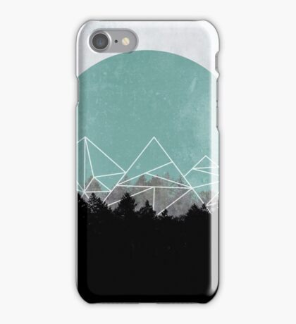 Woods Abstract 2 iPhone Case/Skin