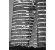 Petronas Towers, Abu Dhabi Photographic Print