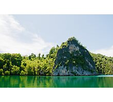 Green & Tranquil Photographic Print