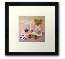 My Teddy... Framed Print