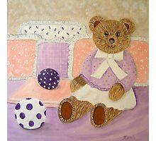 My Teddy... Photographic Print