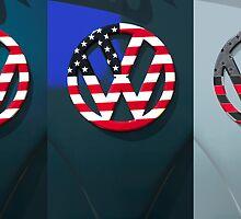 VW Triptych by Phil  Crean