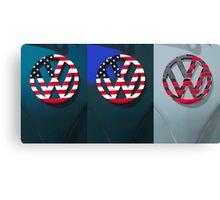 VW Triptych Canvas Print