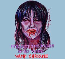 Vamp Chrissie Womens Fitted T-Shirt