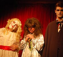 Baby Jane Hudson, Regan MacNeil &  Count Dracula by TimChuma