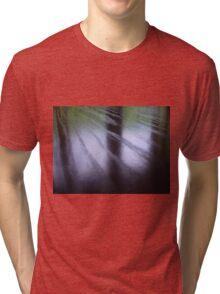 Wood Grain Reflection Tri-blend T-Shirt