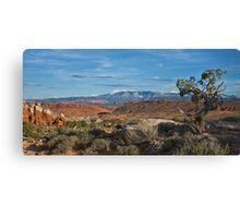 Utah panorama Canvas Print