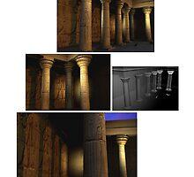 Egyptian Scene - Environment by cjjuzang
