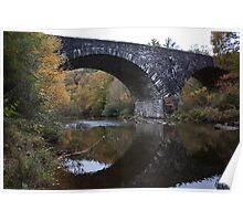 Linville River Bridge Poster