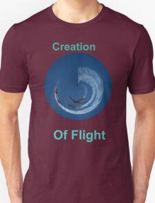 Creation Of Flight Design Unisex T-Shirt