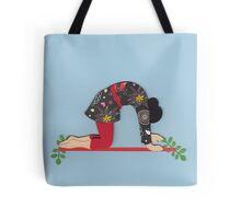 Mardjariasana - CAT yoga posture Tote Bag