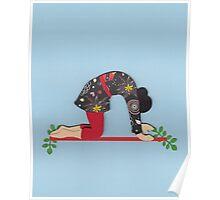 Mardjariasana - CAT yoga posture Poster