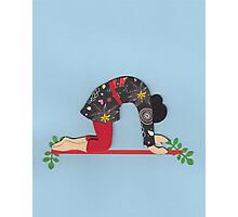 Mardjariasana - CAT yoga posture Photographic Print