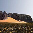 Digital Painting of Desert Landscape by cjjuzang