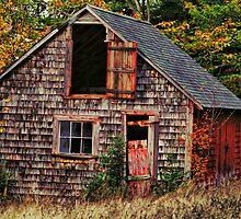 Barn Fall by HighHeadArtwork