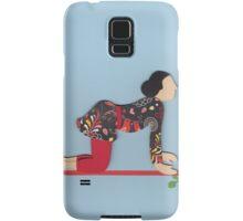 Shvanasana - DOG yoga posture Samsung Galaxy Case/Skin