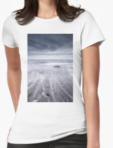 West coast seascape Womens Fitted T-Shirt