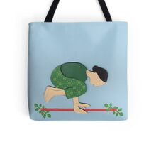 Kakasana - CROW yoga posture Tote Bag