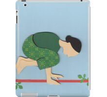 Kakasana - CROW yoga posture iPad Case/Skin