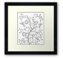 Nature In Motion Framed Print