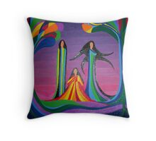 Autumn Spirits Throw Pillow