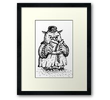 Owl - Boy Framed Print